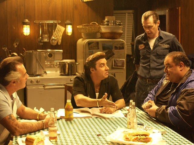 Tony Sirico, Steve Van Zandt, and Steve Buscemi on The Sopranos