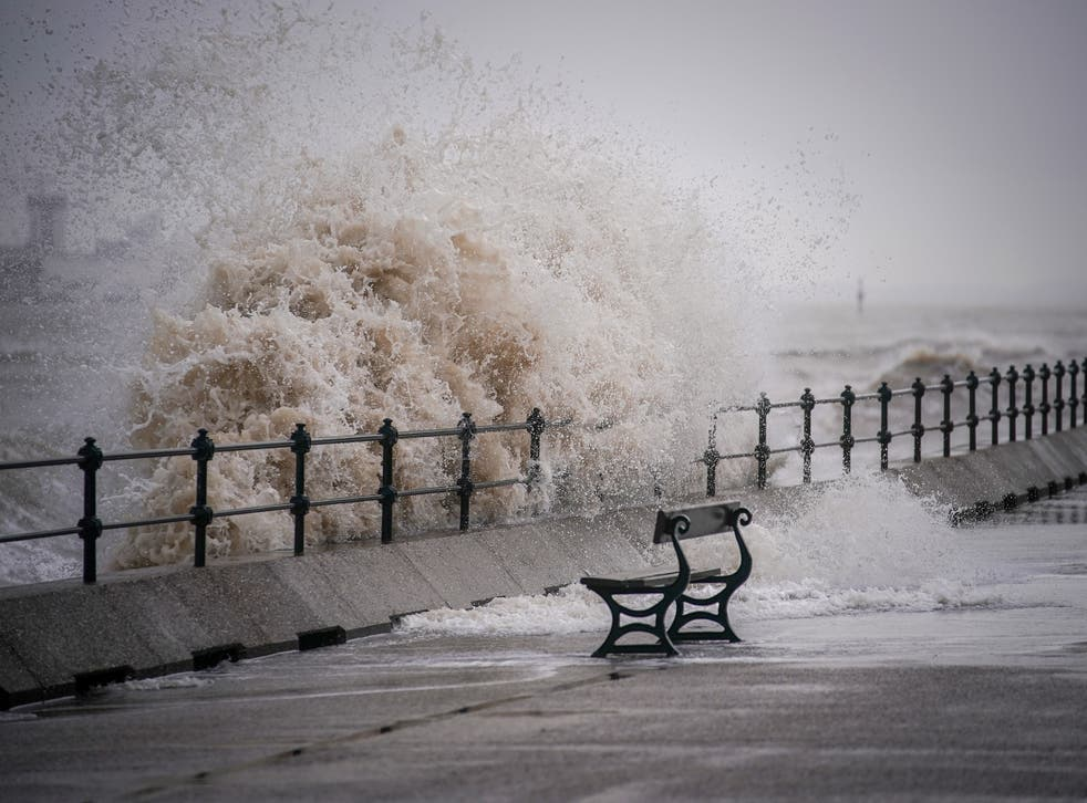 <p>The south west and Northern Ireland could see coastal flooding</p>
