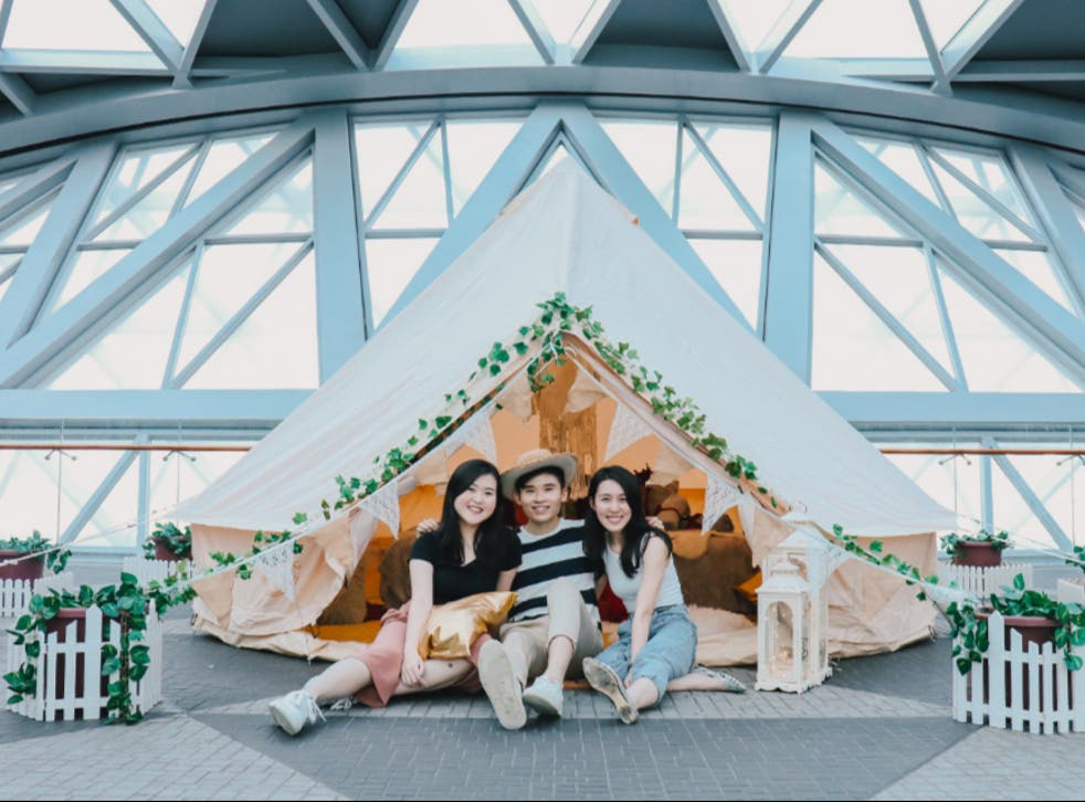 Changi Airport launches glamping in the airport