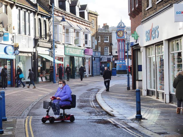 <p>Swale in Kent has the highest Covid infection rate in England</p>