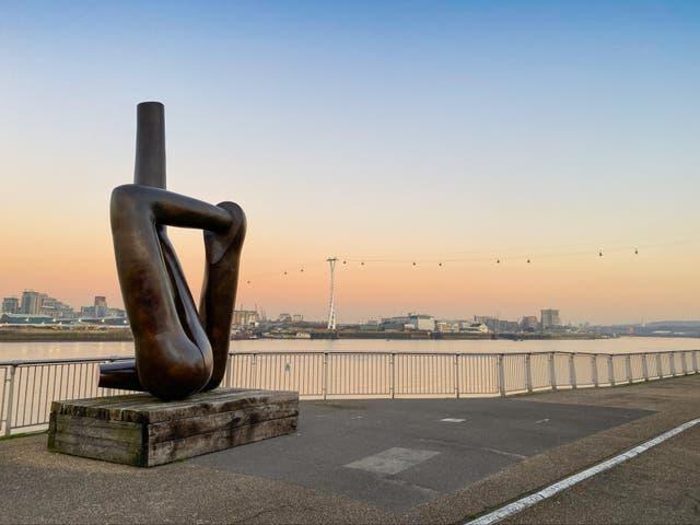 Public art on the Greenwich Peninsula