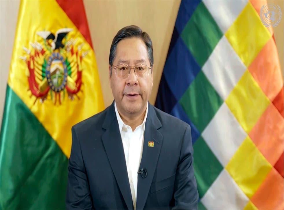 BOLIVIA-ARCE SALUD