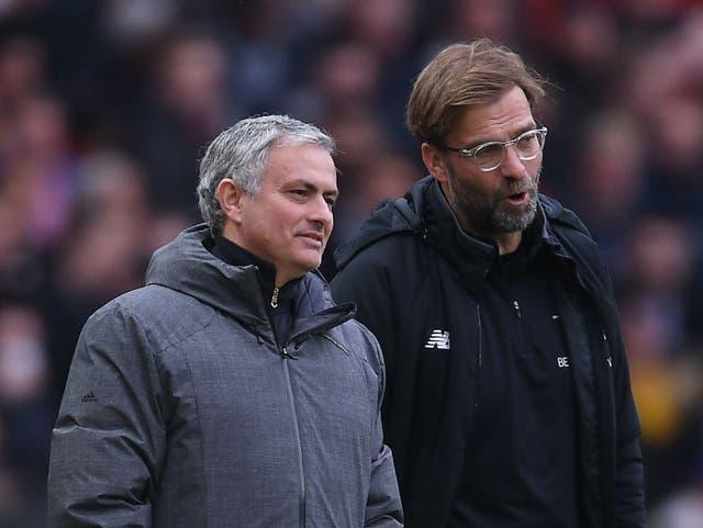 Jurgen Klopp y Jose Mourinho