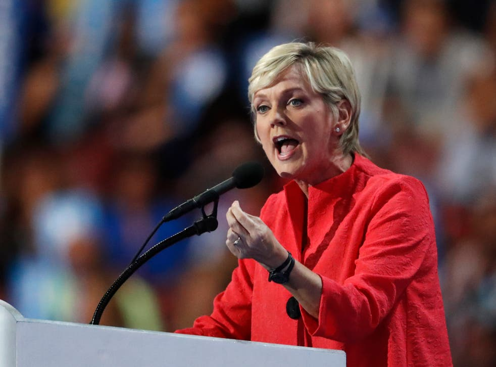 Former Michigan governor Jennifer Granholm, pictured in 2016, is reportedly joining Joe Biden's proposed cabinet as his energy secretary.