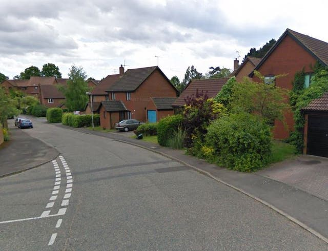 A man died in Haughgate Close after part of a house collapsed