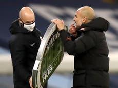 Pep Guardiola explica su enojo al final del empate ante West Bromwich