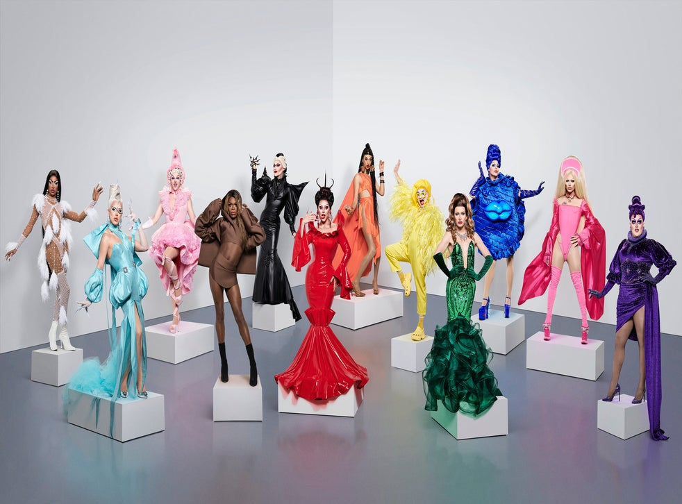 The cast of RuPaul's Drag Race UK series two
