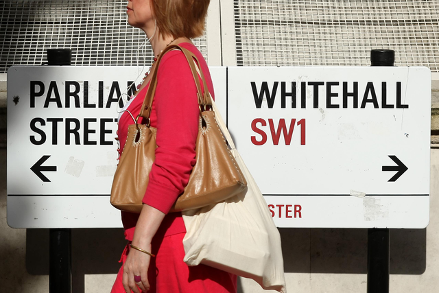 <p>The 30,000 target for Whitehall apprentices was set four years ago – but only 16,155 have been recruited</p>