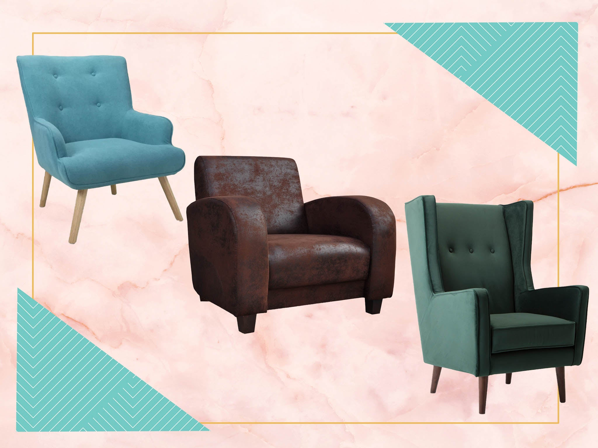 Best Armchairs For Your Home From Leather To Velvet The Independent