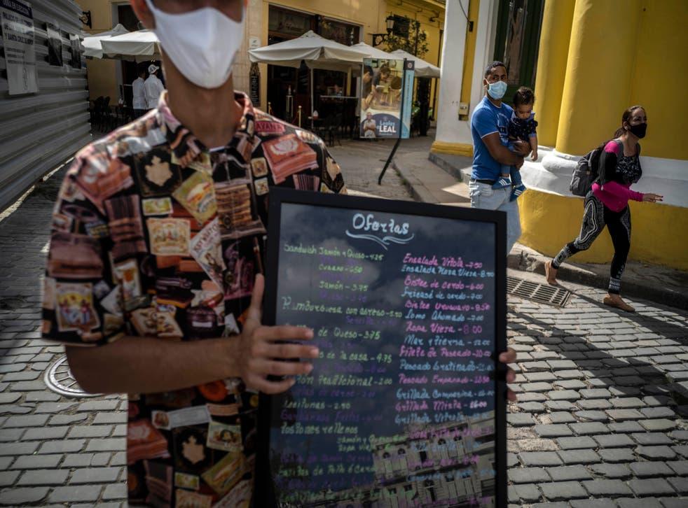 <p>La economía cubana cayó 11% en 2020</p>