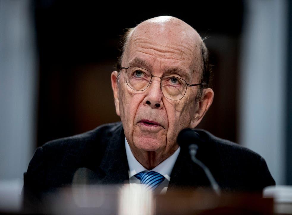 <p>El secretario de Comercio de EEUU, Wilbur Ross, declara ante el Congreso en Washington, el 10 de marzo de 2020.&nbsp;</p>