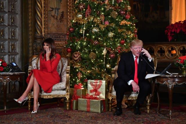 <p>What presidents eat on Christmas&nbsp;</p>