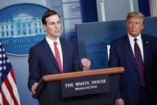 Donald Trump y Jared Kushner apenas han hablado desde que dejaron la Casa Blanca: informe