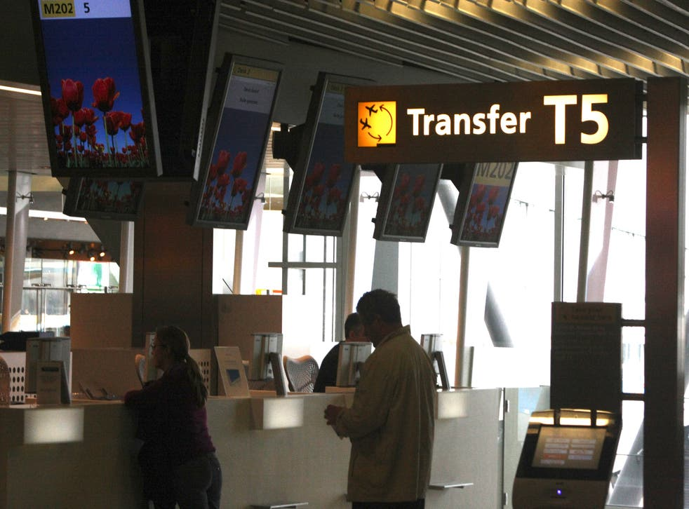 Lost connections: Amsterdam's Schiphol airport is a key transfer hub