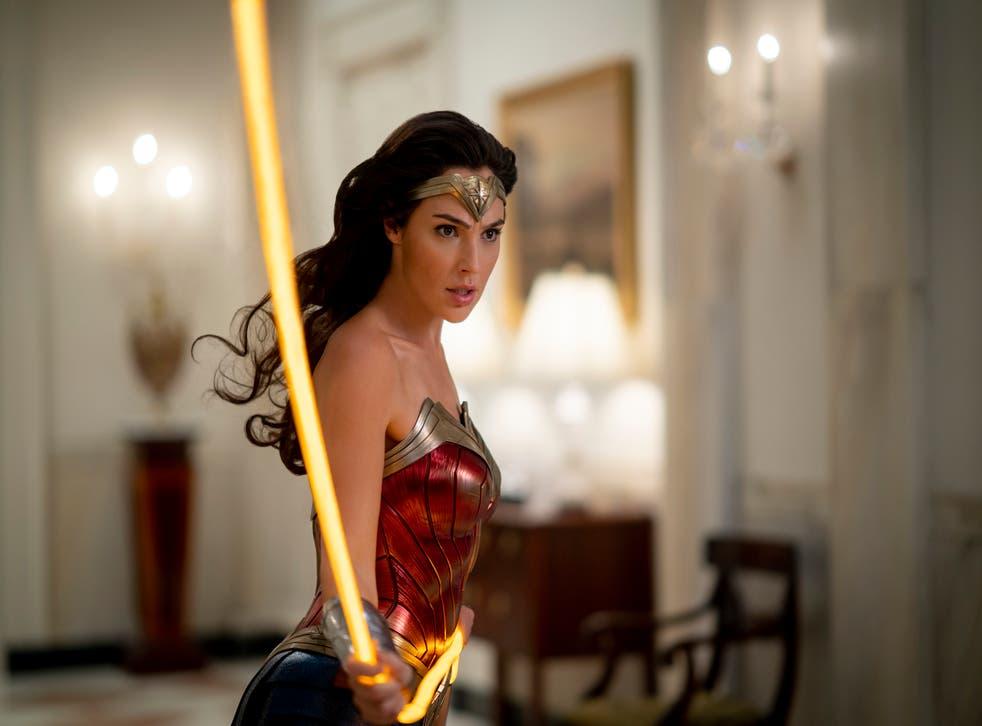 <p>Gal Gadot as Wonder Woman</p>