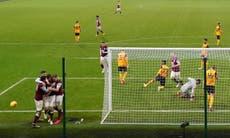 Burnley derrota a Wolverhampton y respira en la Premier League