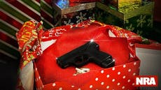 NRA urges Americans to wrap guns for under the tree this Christmas
