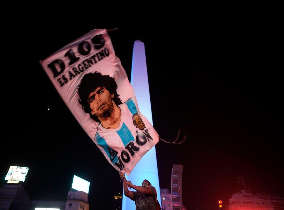 <p>Diego Armando Maradona murió en el 2020</p>
