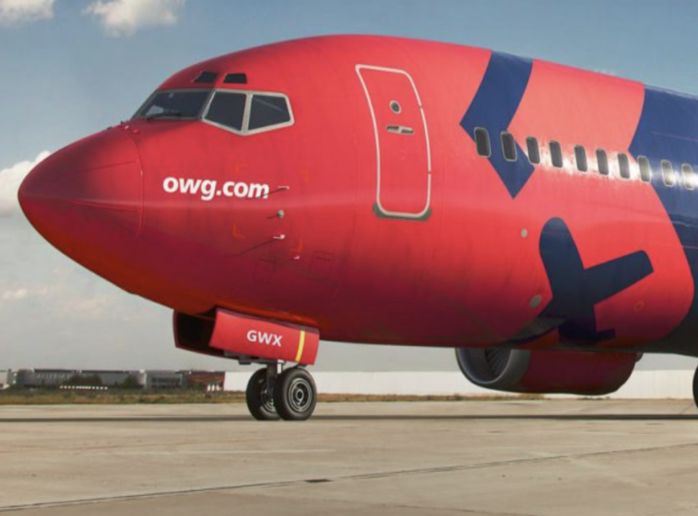 <p>Old timer: OWG is a new airline with a 30-year-old plane</p>