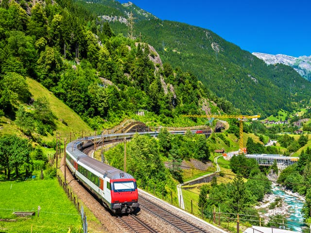 <p>The Gotthard railway is getting a new service</p>