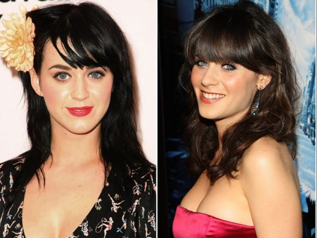 <p>Katy Perry admits she used to pose as Zooey Deschanel to get into clubs.</p>