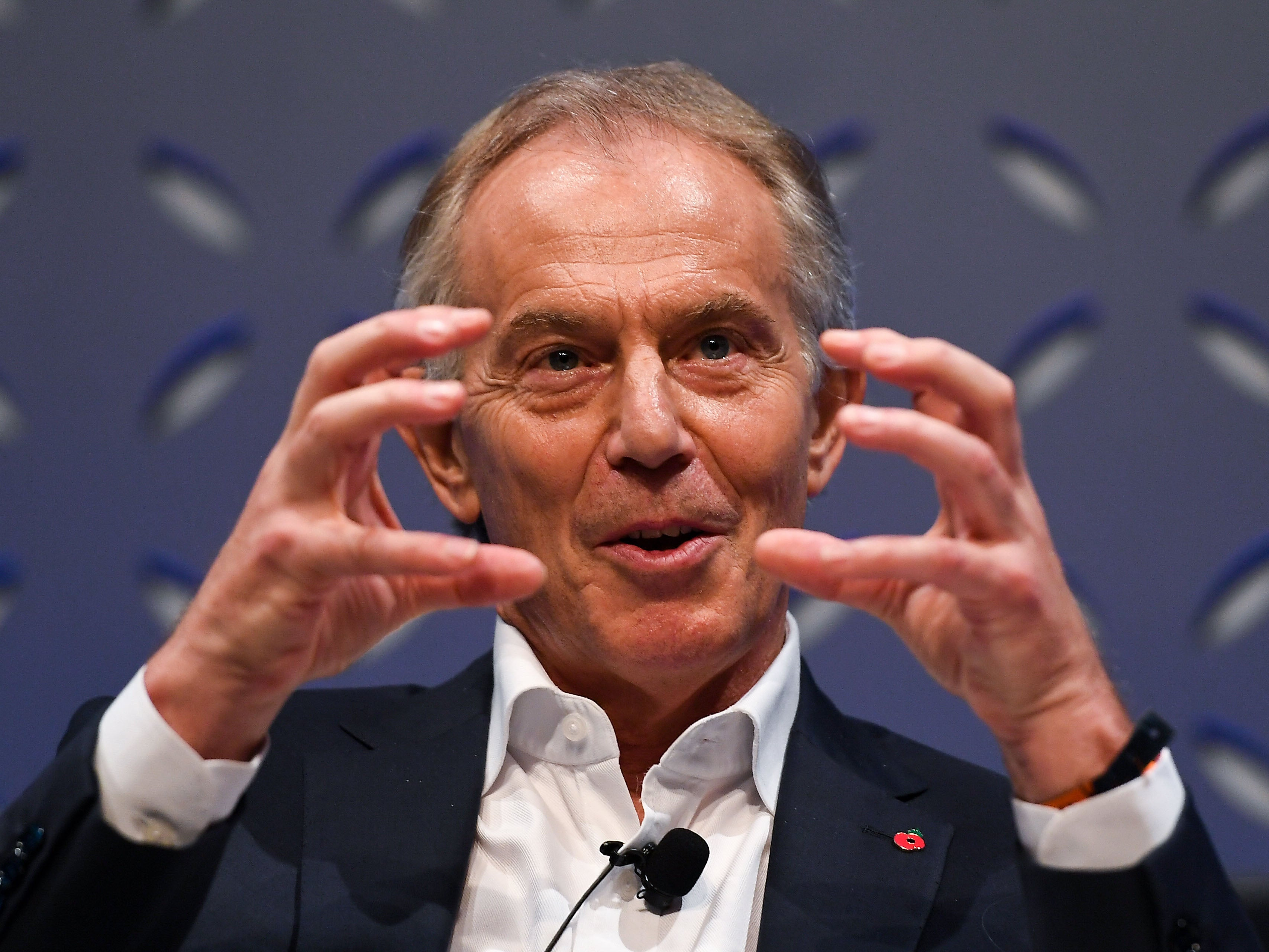 Say what you like about Tony Blair, he knows how to analyse politics