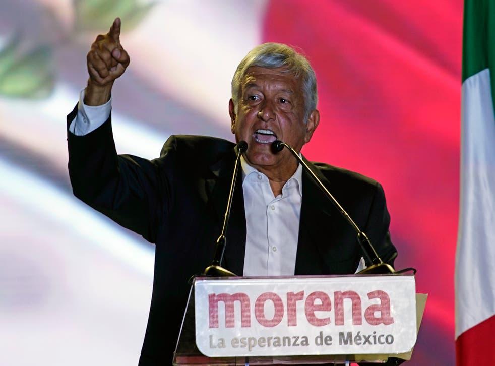 <p>Andrés Manuel López Obrador, presidente de México</p>