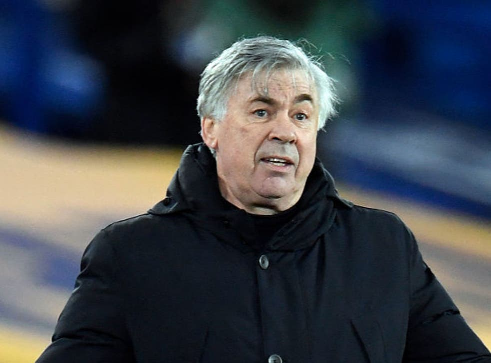 <p>Carlo Ancelotti wants to stay on as Everton manager for the long haul</p>