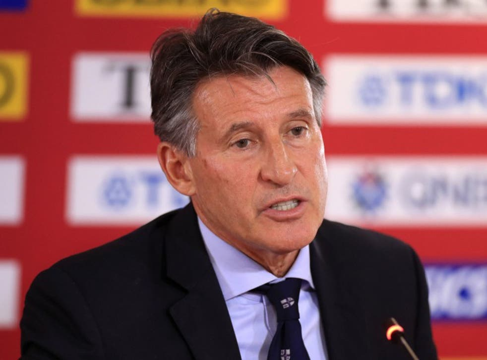 World Athletics president Sebastian Coe says the sport will root out doping