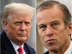 Trump explota y confirma su rompimiento con Mitch McConnell