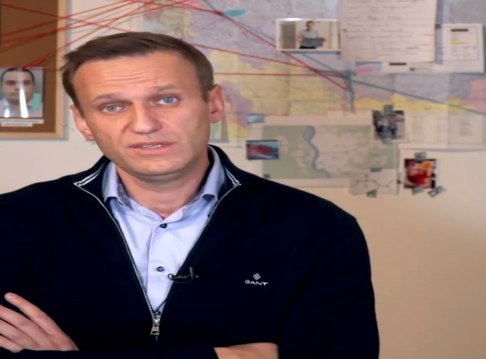 <p>Líder opositor ruso Alexei Navalny</p>