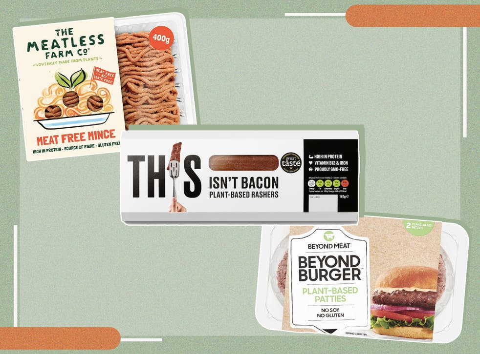 <p>The meat-free market now covers everything from plant-based burgers to sausages, chicken pieces, bacon and charcuterie</p>