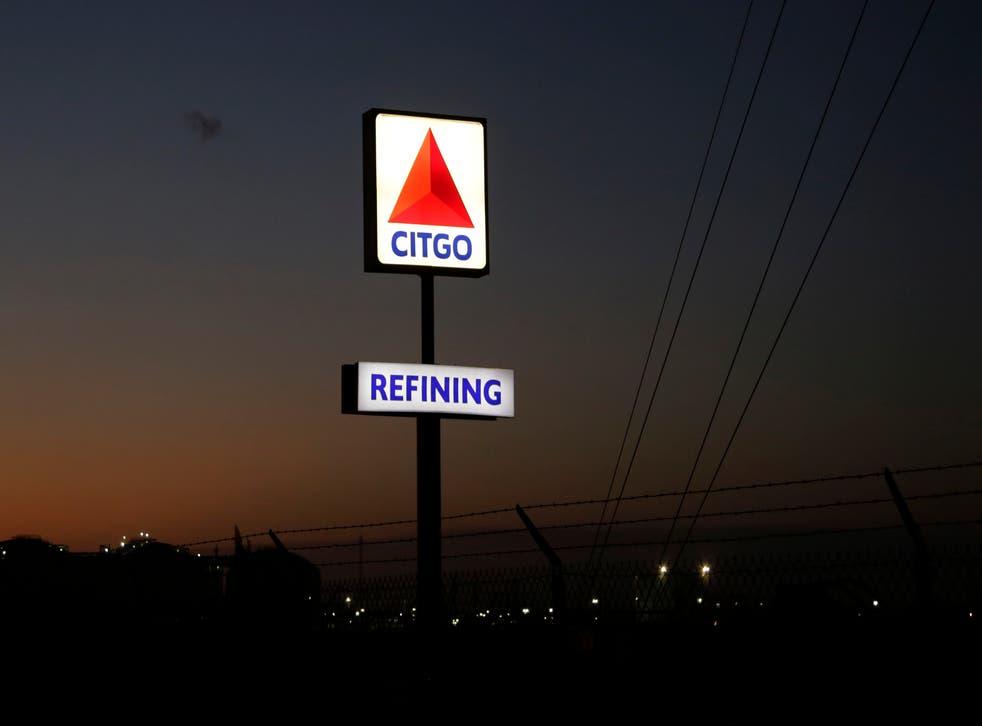 <p>ARCHIVO - Esta fotografía de archivo del 21 de agosto de 2019 muestra el letrero de una refinería de Citgo en Corpus Christi, Texas.&nbsp;</p>
