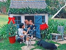 Meghan, Harry y Archie comparten foto familiar en tarjeta de Navidad
