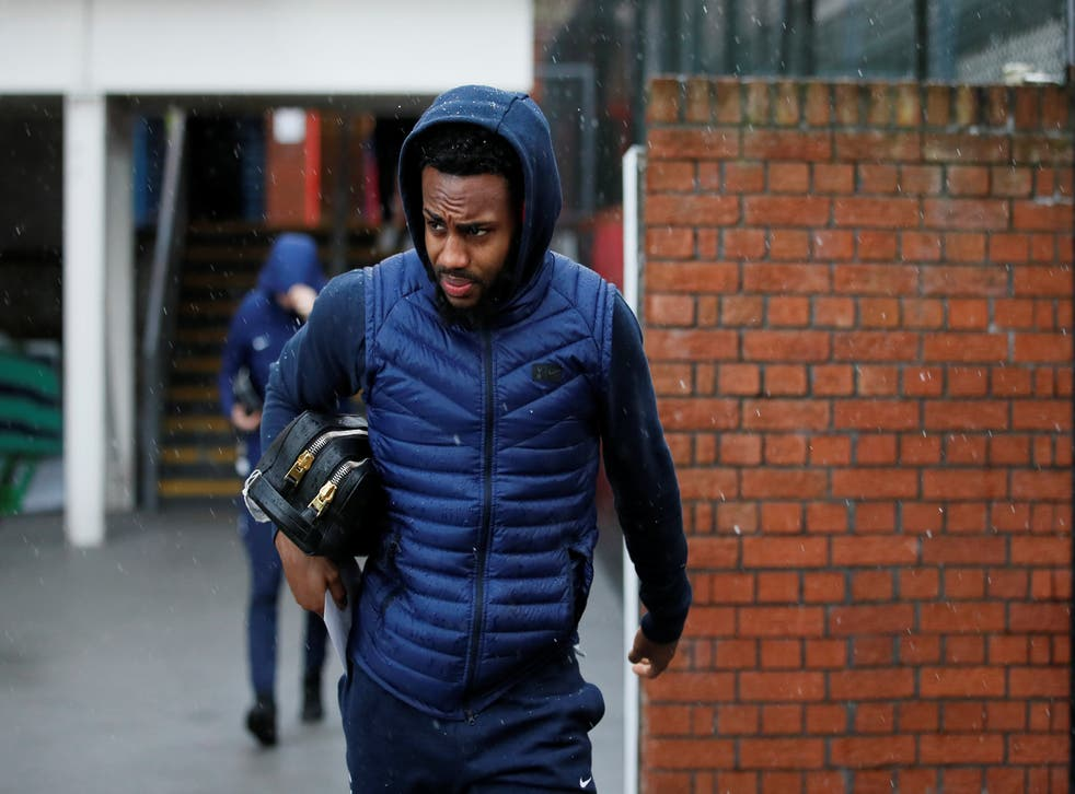Danny Rose was arrested by police in Northampton on Wednesday morning