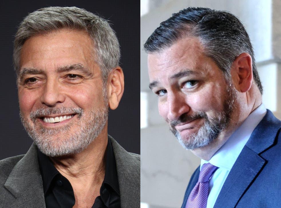 <p>George Clooney recordó los desencuentros que tuvo Ted Cruz con Donald Trump en el 2016, cuando ambos buscaban la nominación republicana a la Casa Blanca.</p>