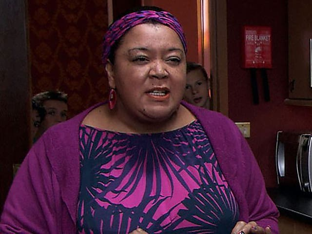 <p>Kay Purcell en Tracy Beaker Returns</p>