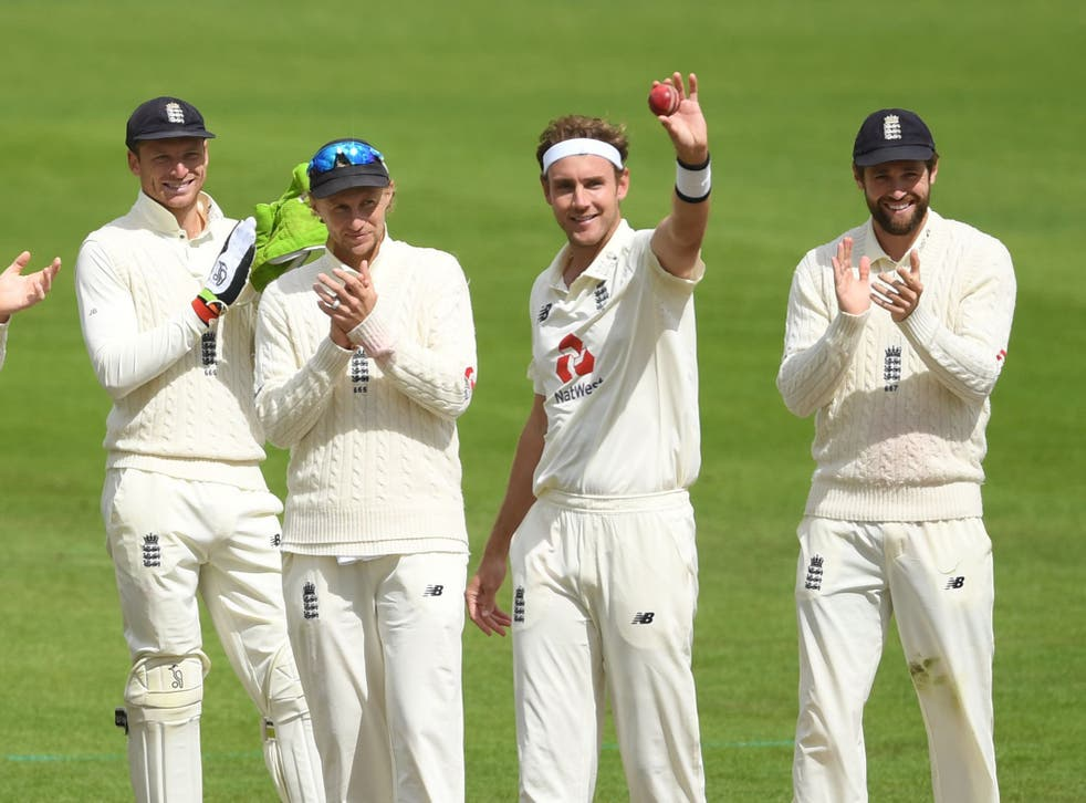 Stuart Broad claimed his 500th Test wicket in one of the year's more positive moments