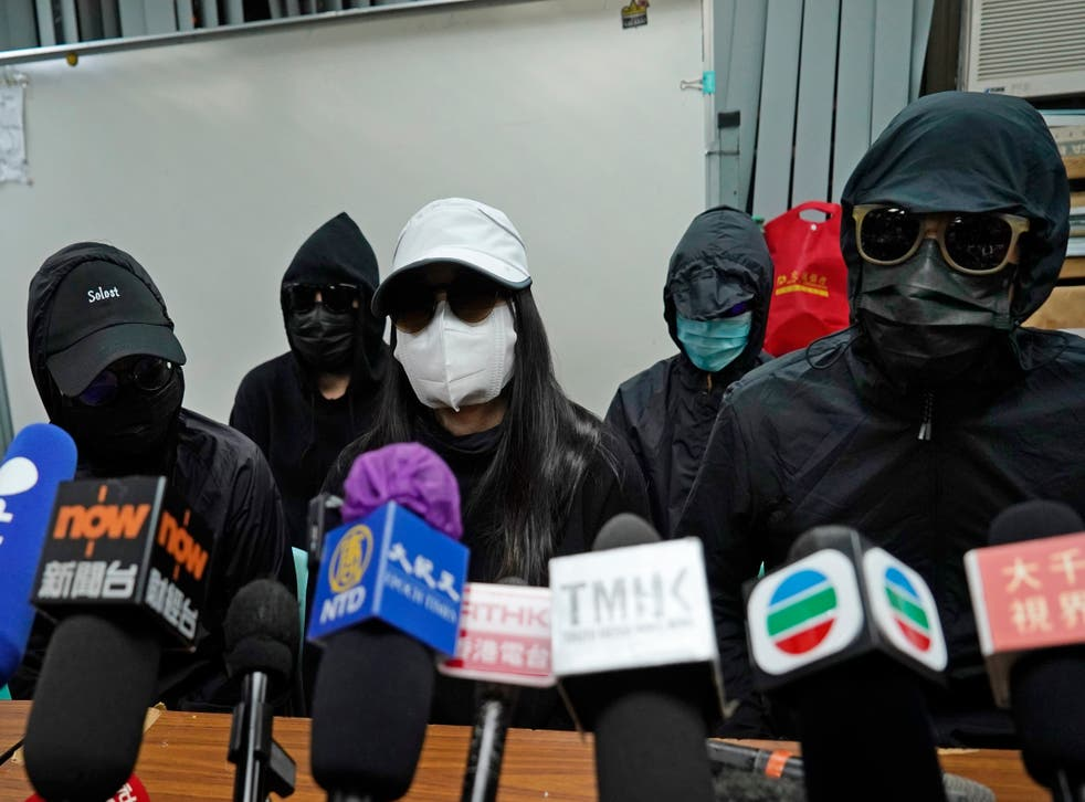 CHINA-HONG KONG-OPOSITORES
