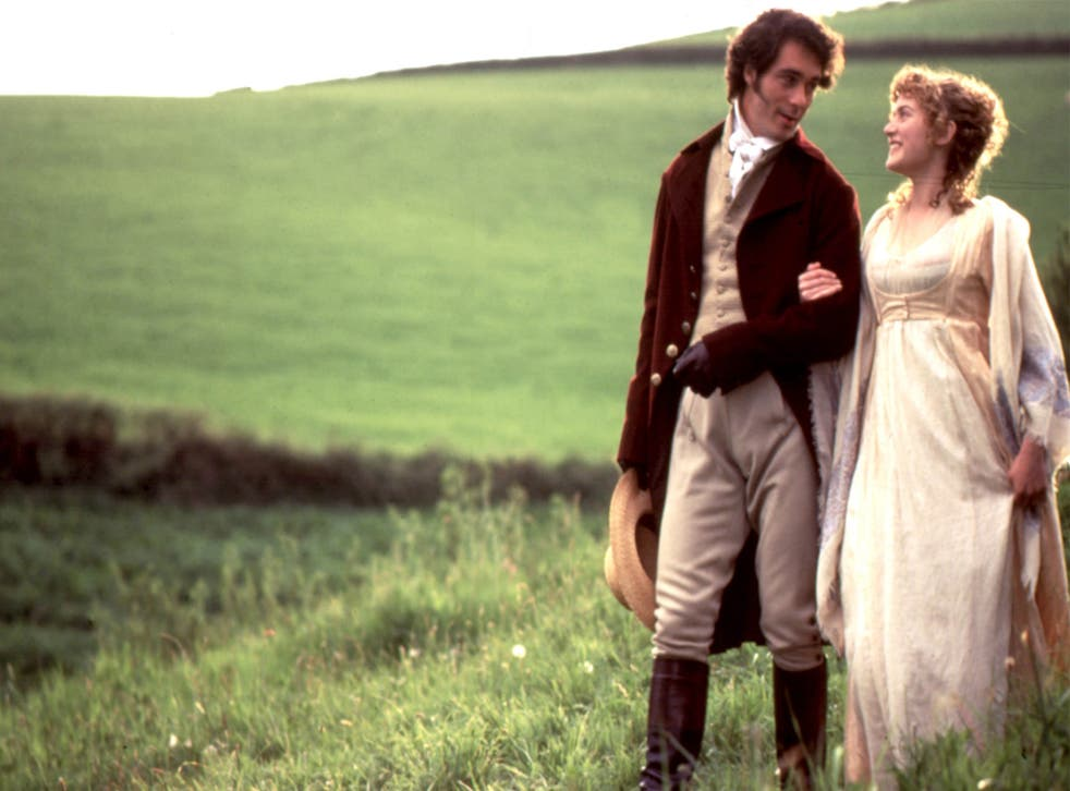 <p>Kate Winslet and Greg Wise in 'Sense and Sensibility'</p>