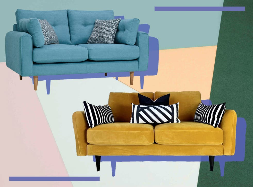 <p>Cuddle up on a stylish seat made for two</p>