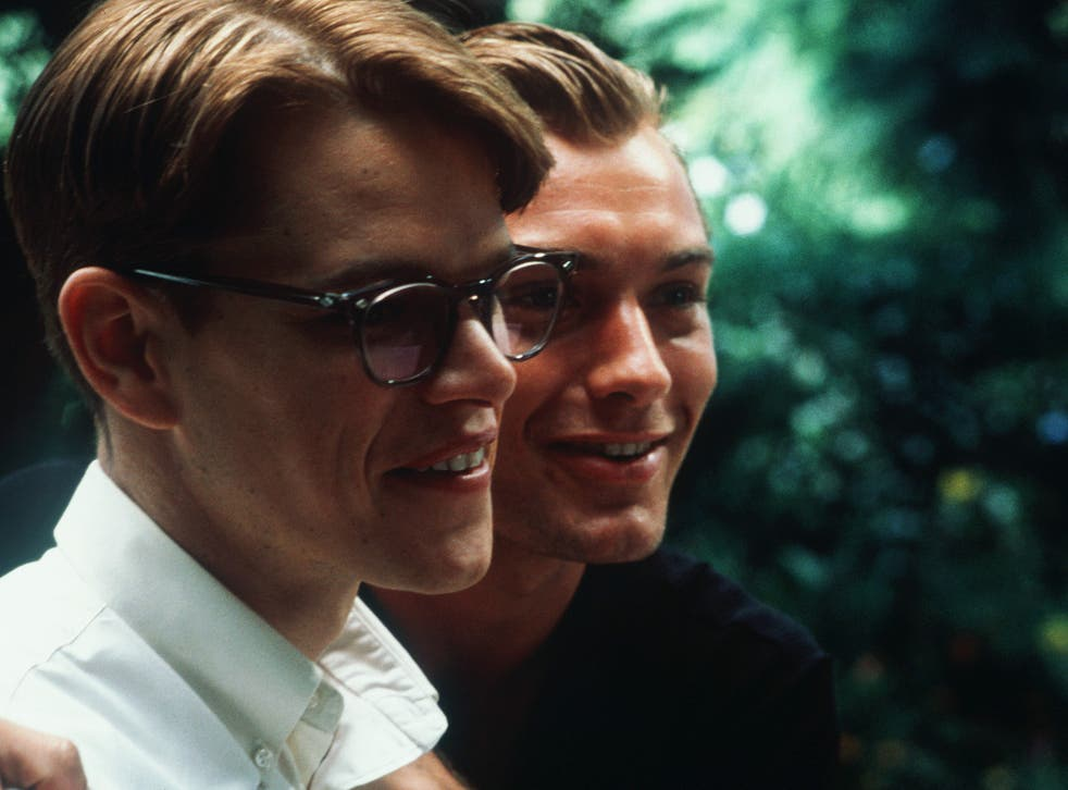 <p>Matt Damon and Jude Law in The Talented Mr Ripley</p>