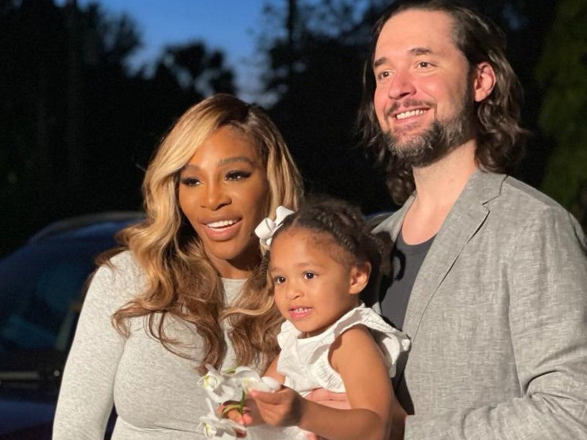 Williams husband serena Serena Williams'