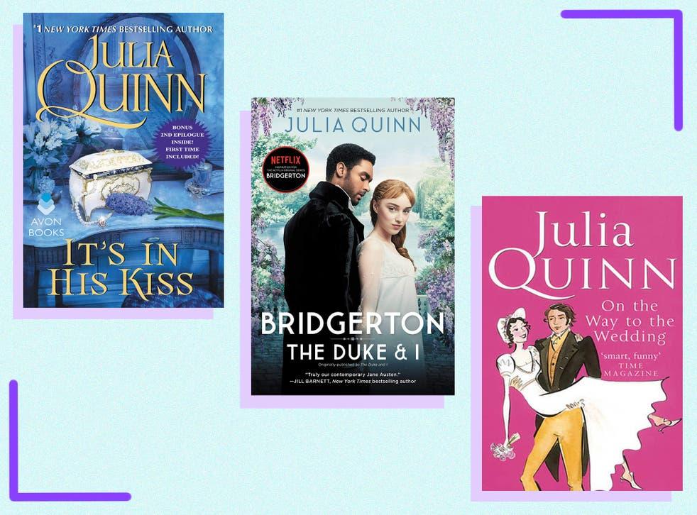<p>Estas son las novelas románticas históricas que inspiraron el exitoso drama, comenzando con 'El duque y yo' de Julia Quinn.</p>