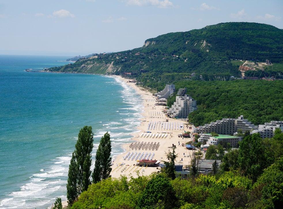 One of the resorts near Varna