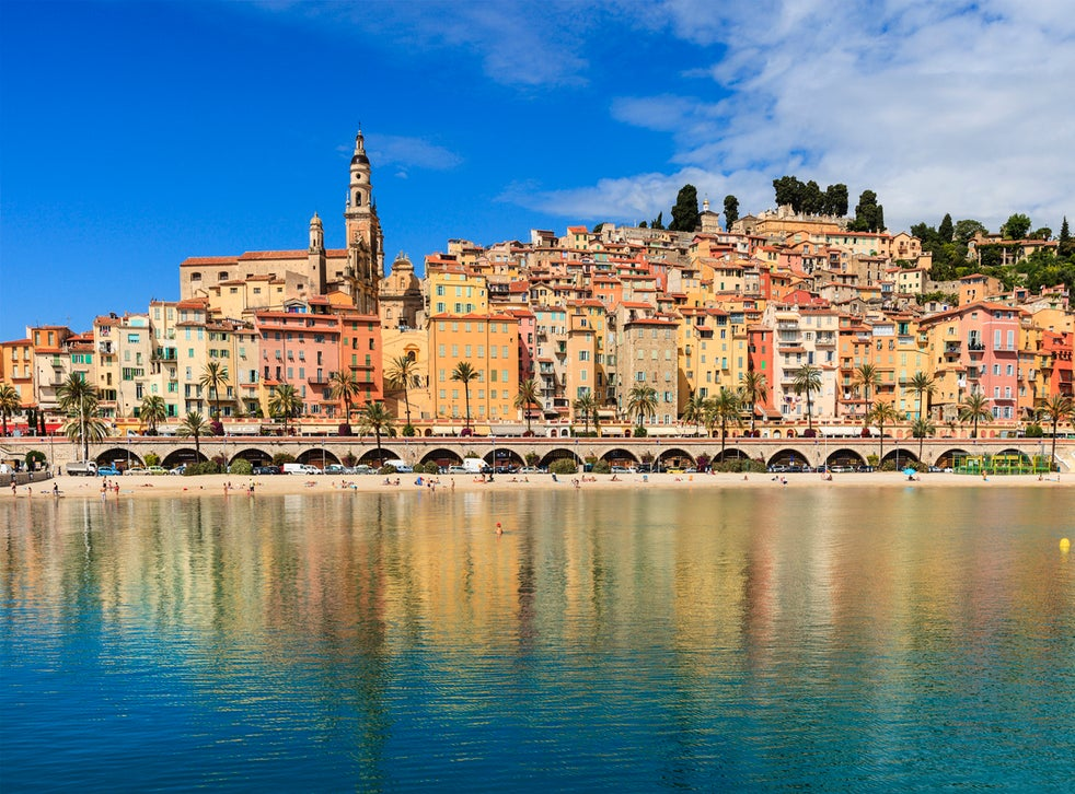 Menton, the last stop before Italy