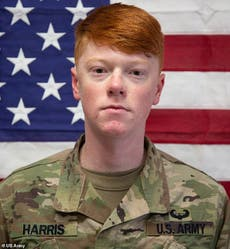 US soldier and 16-year-old charged in the murder of US Army Corporal Hayden Harris