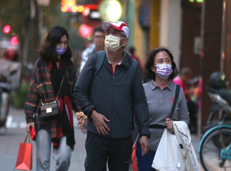 Virus Outbreak Taiwan Daily Life