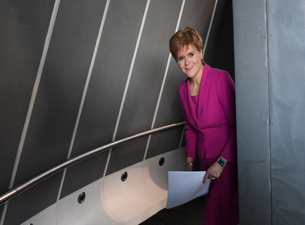 <p>SNP leader and Scotland's first minister Nicola Sturgeon&nbsp;</p>