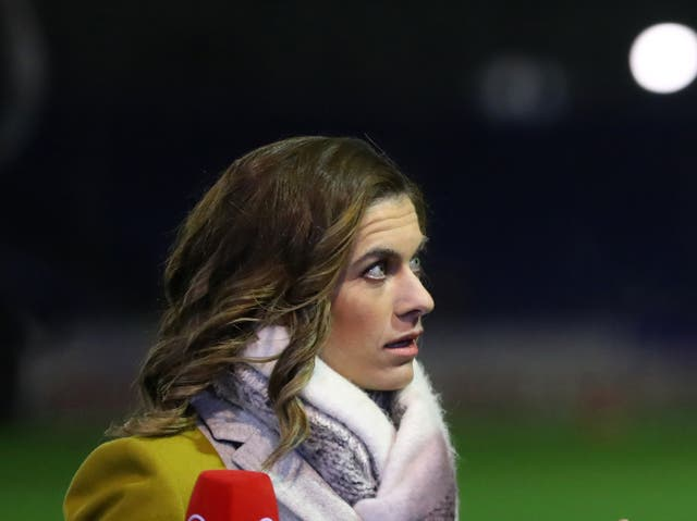 Karen Carney has been working as a pundit since retiring as a player in 2019